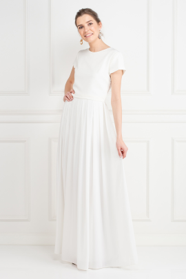 White Snow Maxi Dress-1