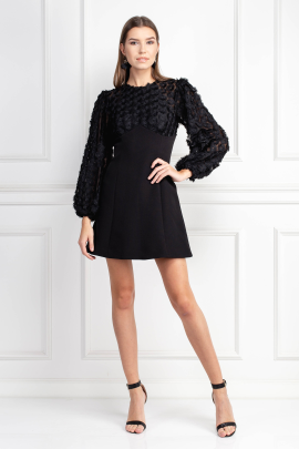 Mirrors Long Sleeve Dress-0