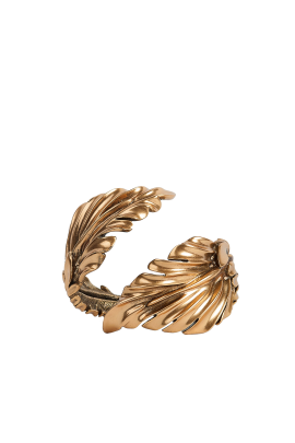 Gold-plated Leaf Cuff-0