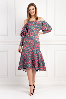 Miss Me Floral Dress / VILNIUS-0