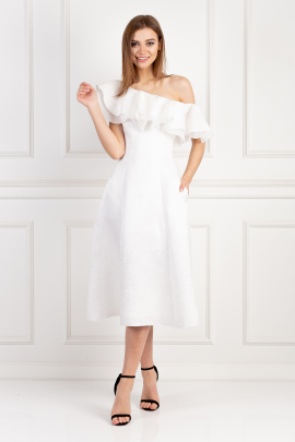 White Lorena Dress-0