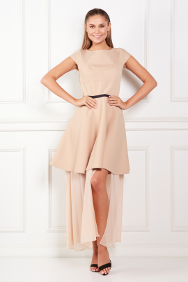 Beige Meghan Dress -0