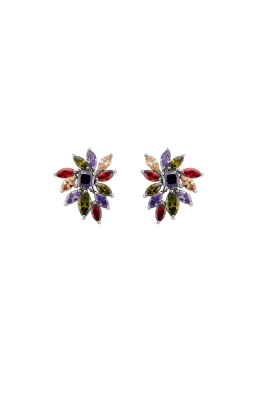 Multi Cubic Earrings-0