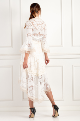Pearl White Ash Dress-4