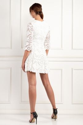 White Webb Dress-2