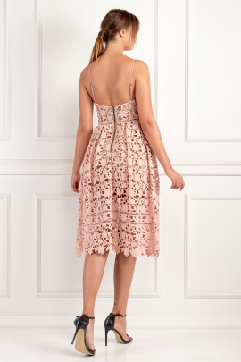 Azaelea Blush Pink Dress-3