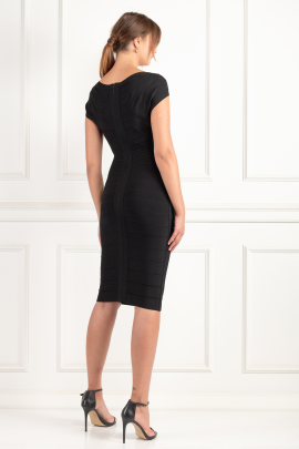 Annie Cutout Bandage Dress-4