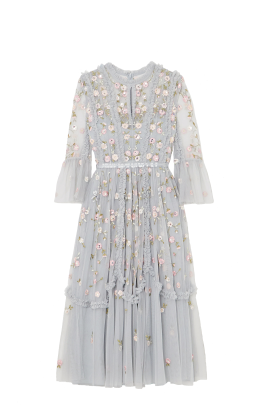 * Sky Blue Wallflower Dress-4