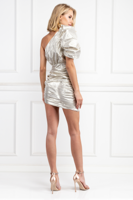 Champagne Maureen Mini Dress-2