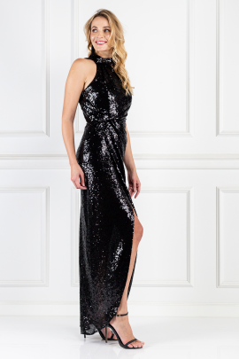 * William Black Sequin Dress-1