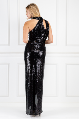 * William Black Sequin Dress-2
