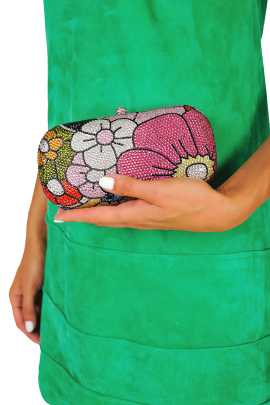 Flower Bouquet Clutch-1