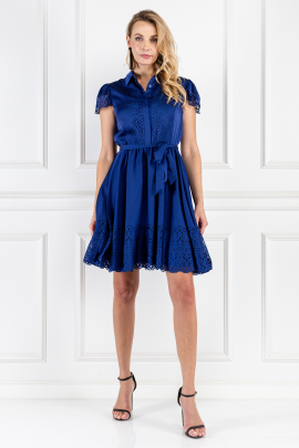 Blue Jacques Dress-0
