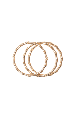 Three Gold-plated Bracelets / VILNIUS-2