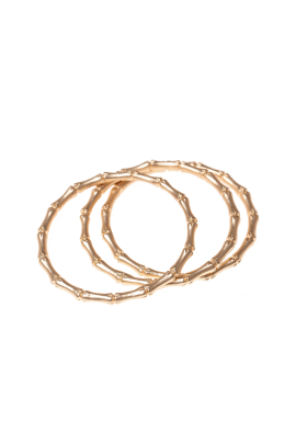 Three Gold-plated Bracelets / VILNIUS-0