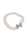 Pearl Rhinestone with Bow