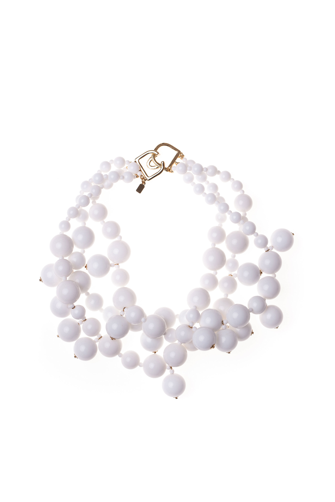 White Drops Necklace