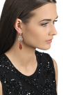Gold-plated Zirconia Earrings