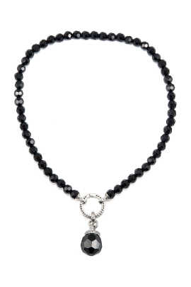 Black Mystery Necklace-0