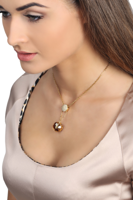Golden Star Necklace-1