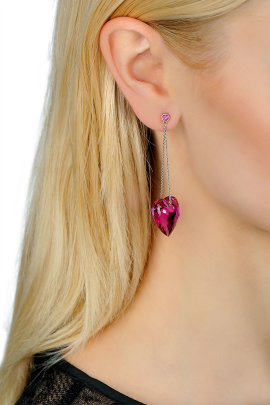 Rose Love Earrings-1