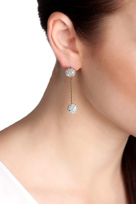 Shining Midnight Star Earrings-1