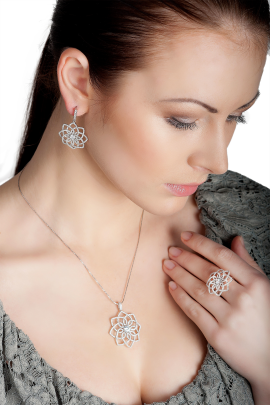 Snowflake Earrings-2