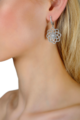 Snowflake Earrings-1