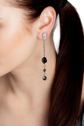 Decorative Chain Earrings -1