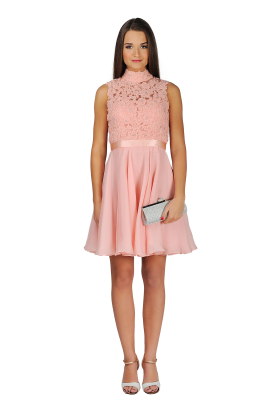 Blush Lady Dress-0