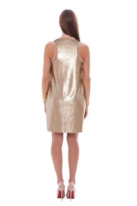 Pure Gold Dress-2