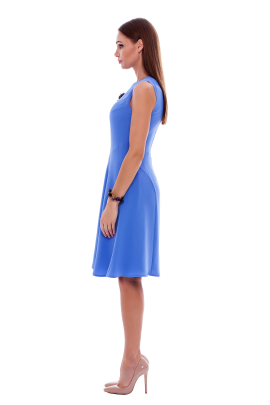 Light Blue Crepe Dress / VILNIUS-2