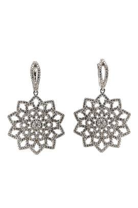 Snow Flower Earrings-0