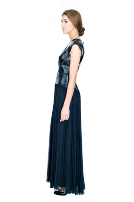 Ola Black Gown-1