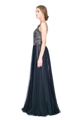 Embellished Tulle Gown-2