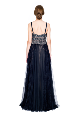 Embellished Tulle Gown-3