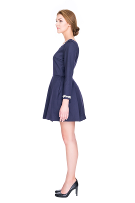Copelia Wool Mini Dress-2