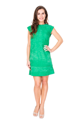 Verde Velure Dress-0