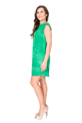 Verde Velure Dress-1