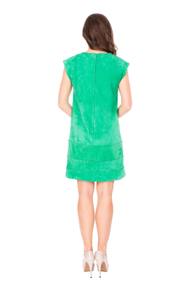 Verde Velure Dress-2