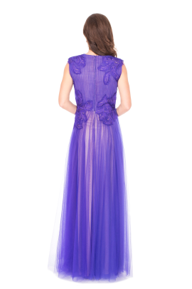 Purple Anhinga Gown-2