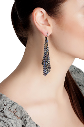 Lady Night Earrings -1