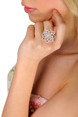Snow Flower Ring-1