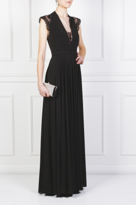 Laced Jersey Gown-2
