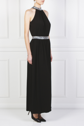 Embellished Stretch Gown-3