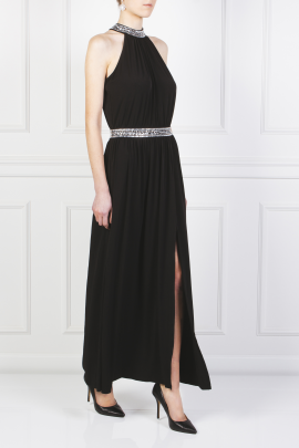 Embellished Stretch Gown-4
