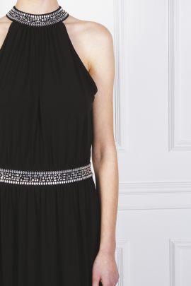 Embellished Stretch Gown-6