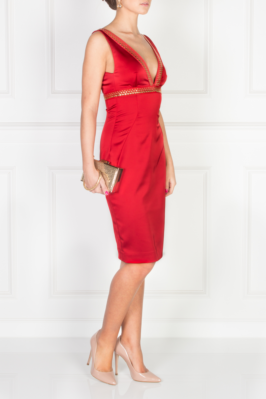 Scarlett Satin Dress