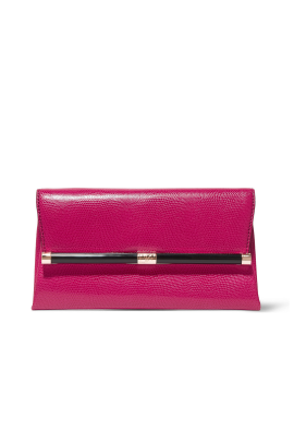 Lizzard Leather Clutch-0
