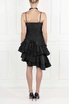 Black Flamenco Dress-2